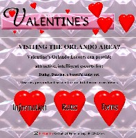 Valentine's website in 1996
