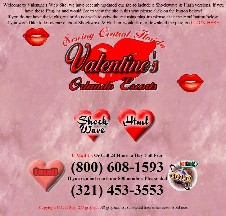 Valentine's website in 1999
